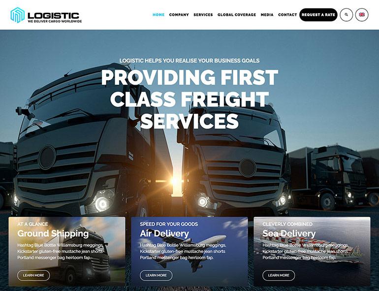 Wordpress teme za transport