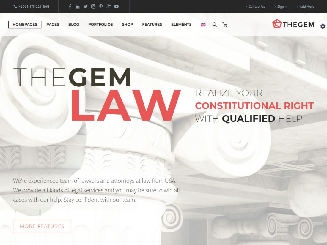 wordpress-tema-za-advokate-the-gem